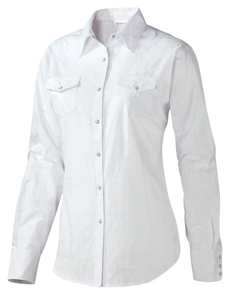 <b><i>Ariat Bella Snap Shirt L </i></b>