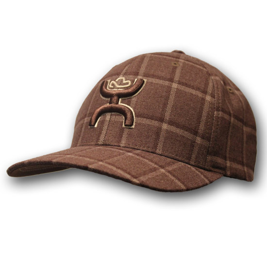 Hooey Pueblo Brown Plaid Flexfit