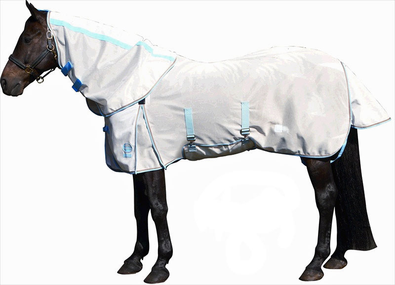 <b><i>WeatherBeeta Supafly Detach-A-Neck Fly Sheet</b