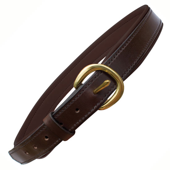 s wide leather belt