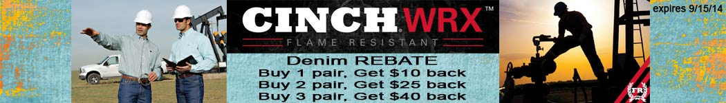 Check out Cinch FR Jeans