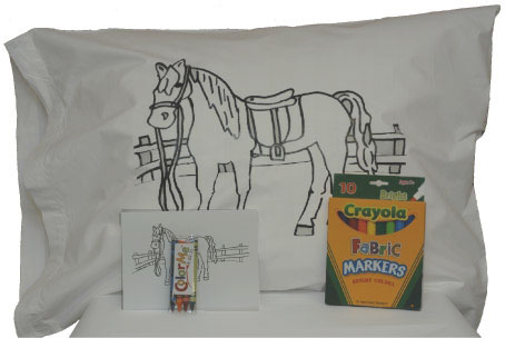 <b><i>Color Me Pillowcase </i></b>