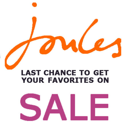 Joules Clearance