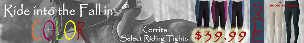 Select Kerrits Riding Tights $39.99