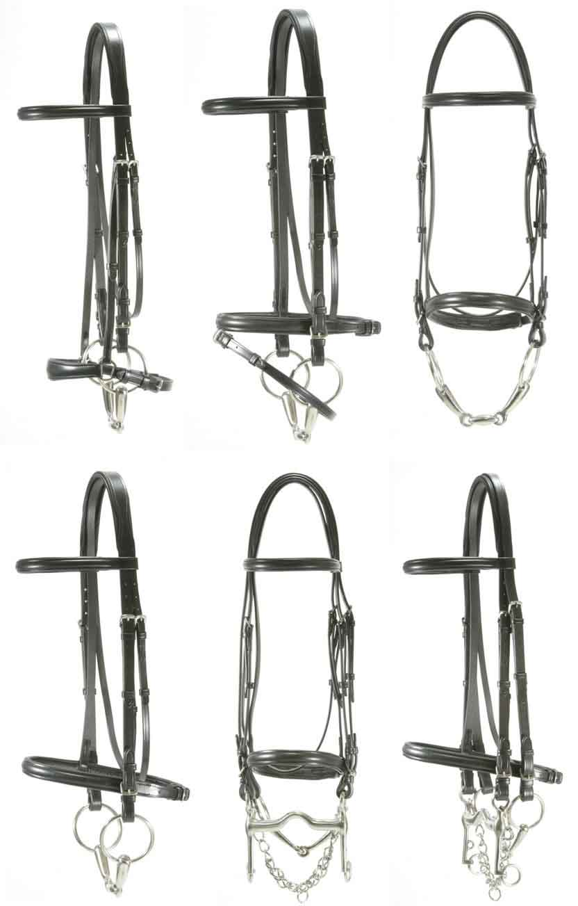 <b><i>Red Barn Levade Dressage Bridle</i></b>