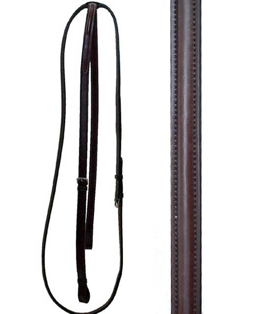<b><i>KL Select Red Barn Round Raised Standing Martingale  </i>