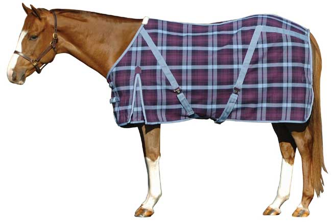 <b><i>WeatherBeeta Plaid Fleece Sheet </b>