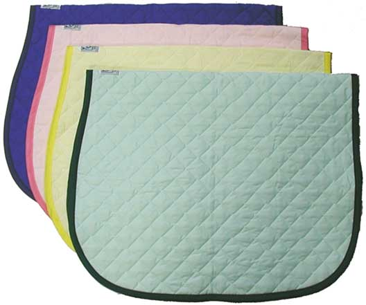 <b><i> Wilkers Colorful Baby Saddle Pads </i></b>