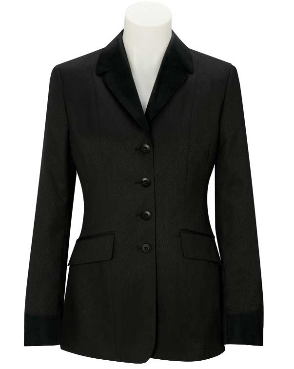 <b><i>RJ Classics Riverston Black Stripe Crossover Coat