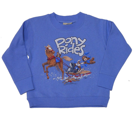 <b><i>Toddler Sweatshirt Pony Rides</i></b>