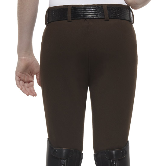 Ariat youth s heritage knee patch espresso breech