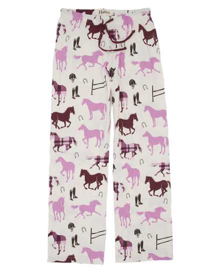 Hatleys Womens Pretty Horse Pajama Set.