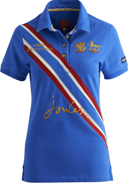 <b><i>Joules Bramhams Polo in Blue</b></i>