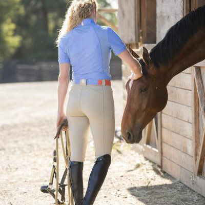 <b><i>FITS Megan PerforMAX Knee Patch Riding Breeches</i></b>