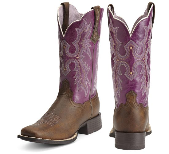 Wonderful Nocona Rancher Cowboy Boots  13quot Square Toe For Women  Save 31
