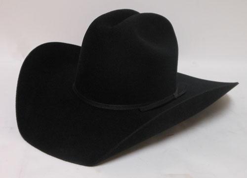 Atwood Hat Company Black Felt Western Hat