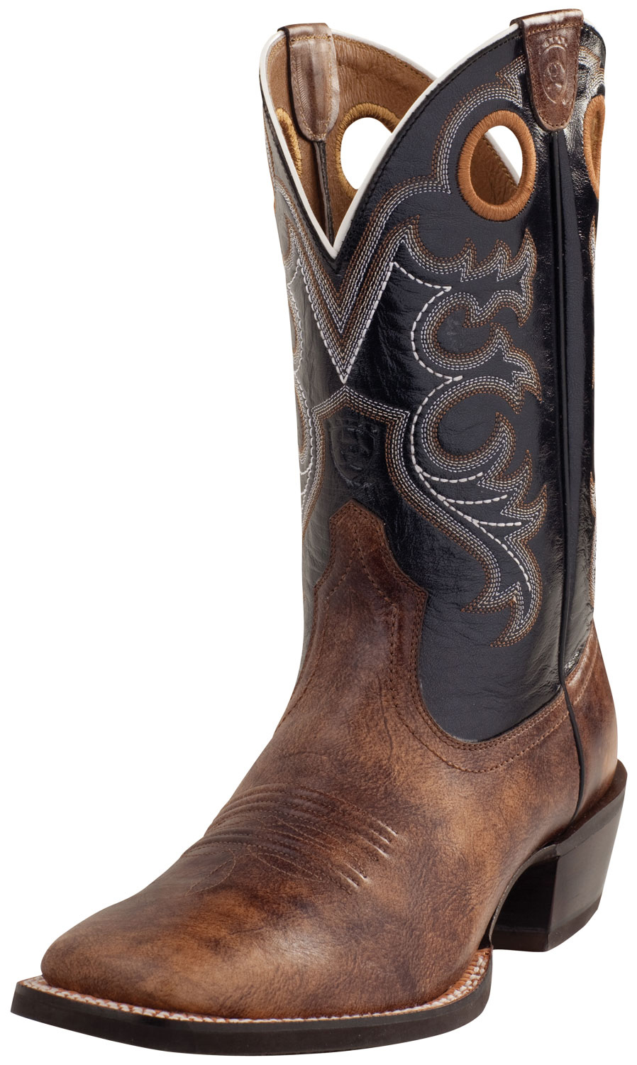ariat s crossfire wide square toe western boots