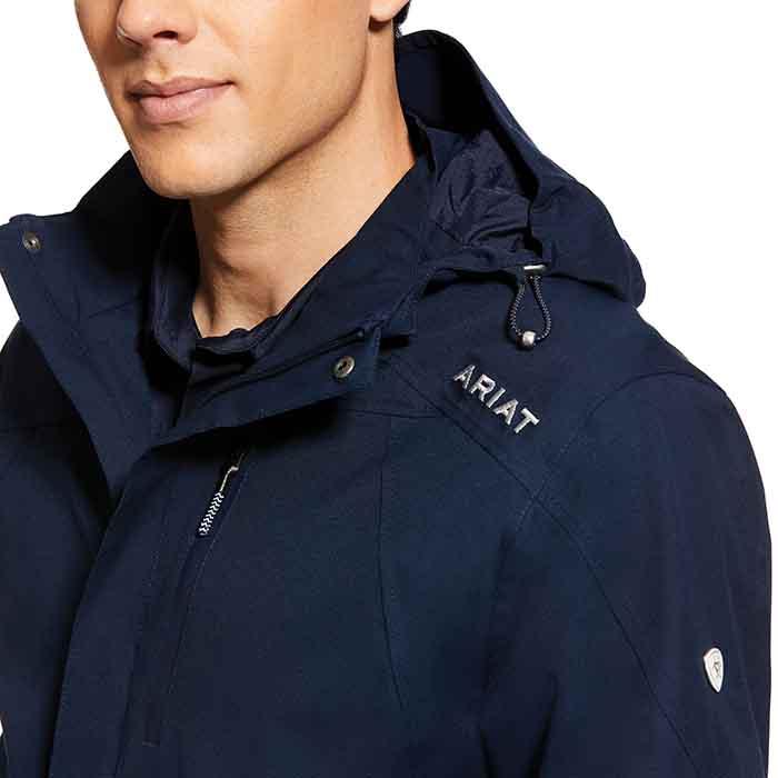 Ariat Mens Coastal H2O Jacket Navy