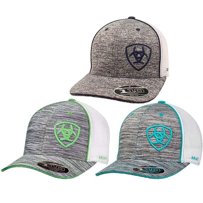 73d22dfb30861 Ariat FlexFit Tech Ball Cap
