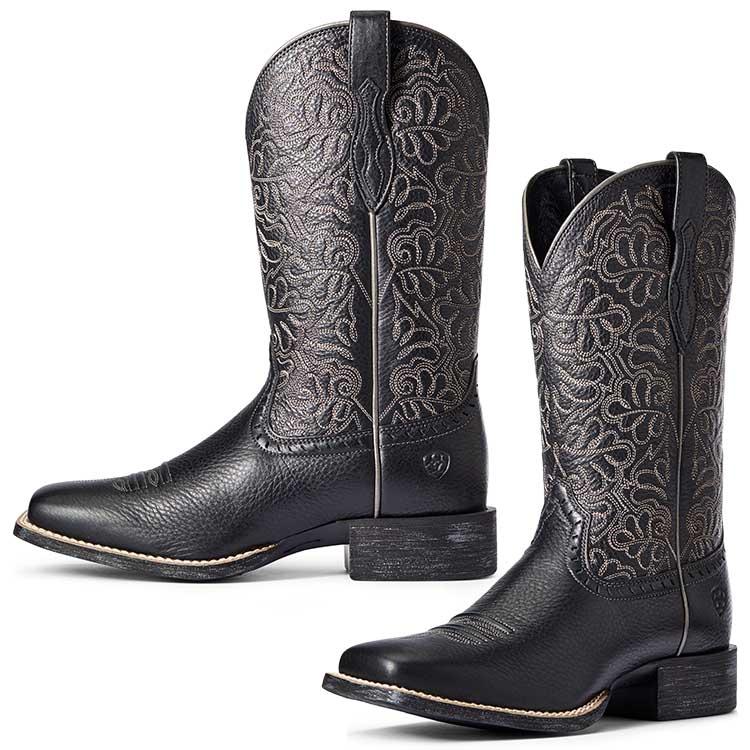 Ariat Ladies Round Up Remuda Western Boots
