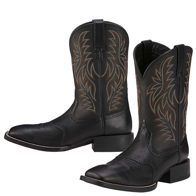 71a2b2be824 Ariat Men s Sport Western Wide Square Toe Boots