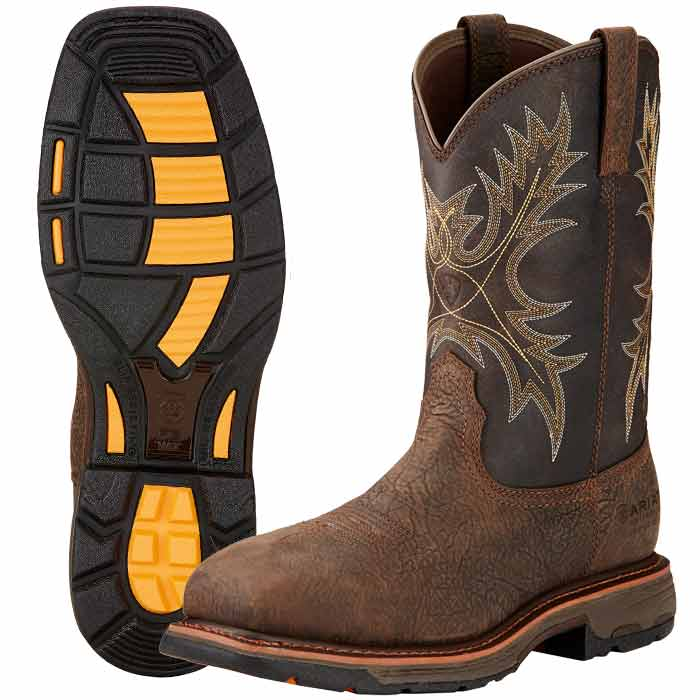 Ariat Workhog Square Composite Toe Work Boot