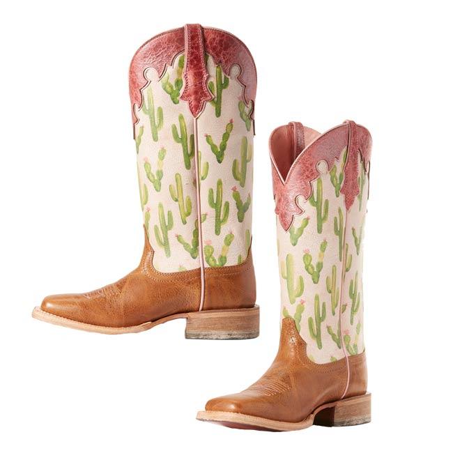 ffce7f7bef8 Ariat Fonda Cactus Wide Square Toe Boots