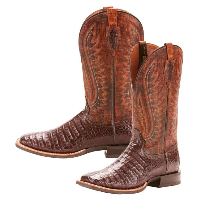 Ariat Mens Double Down Exotic Square