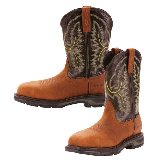 5a1309281dd Ariat Mens Workhog XT Wide Square Toe H2O Work Boots
