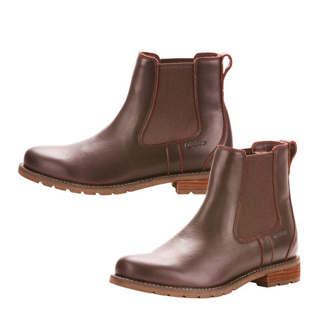 1162ae342acf Ariat Womens Wexford H2O Boots in Cordovan