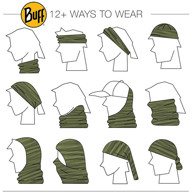 Buff Girls Multi Functional Head Wear