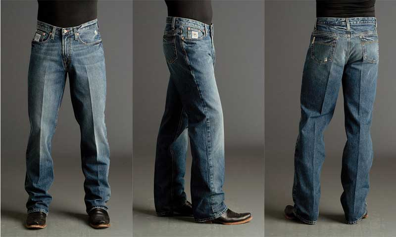 52d45b625ce Cinch Men s White Label Medium Stone Western Jeans