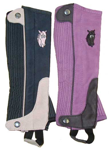 Colorful Half Chaps for Kids II L