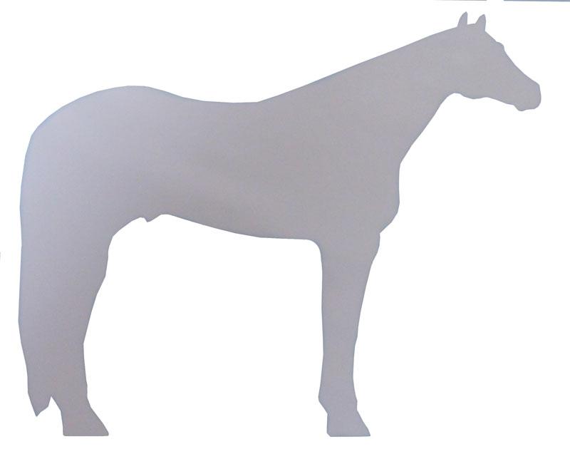 Quarter Horse Decal