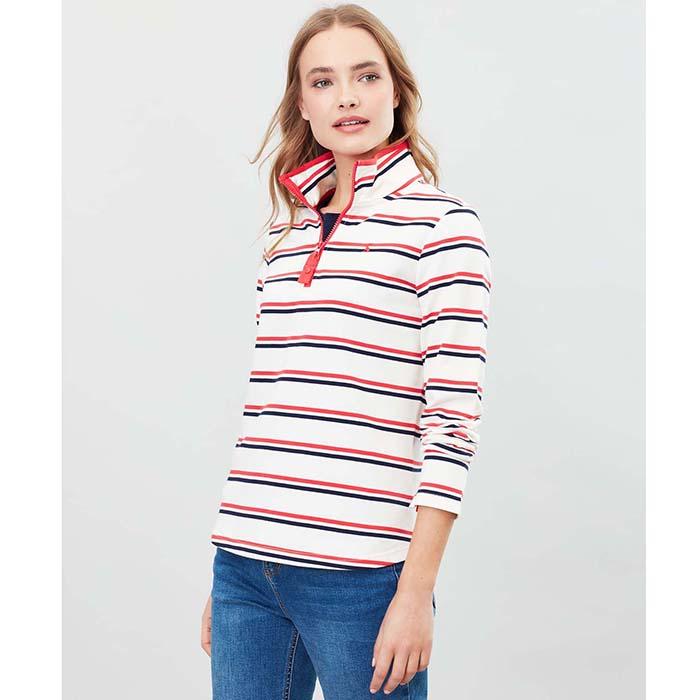 Joules Fairdale Sweatshirt With Zip Neck