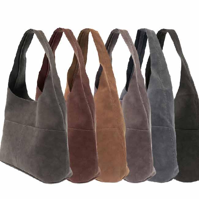 4b45ef5ed1df Joy Susan Jenny Faux Suede Hobo Handbag