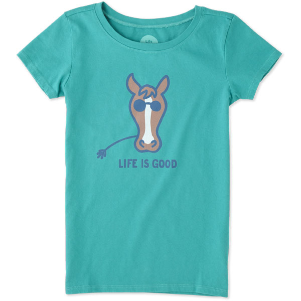 Life Is Good T Shirt For Girls