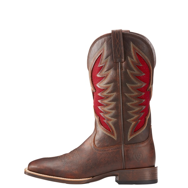 new products 43877 6335e Ariat Mens Venttek Ultra Cowboy Boots in Barley Brown
