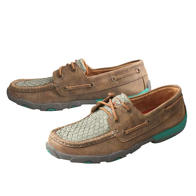 Twisted X Shoes Womens Turquoise