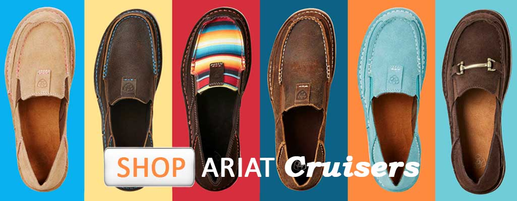 Ariat Cruisers, Ariat Cruiser shoes, Ariat Bit Cruiser