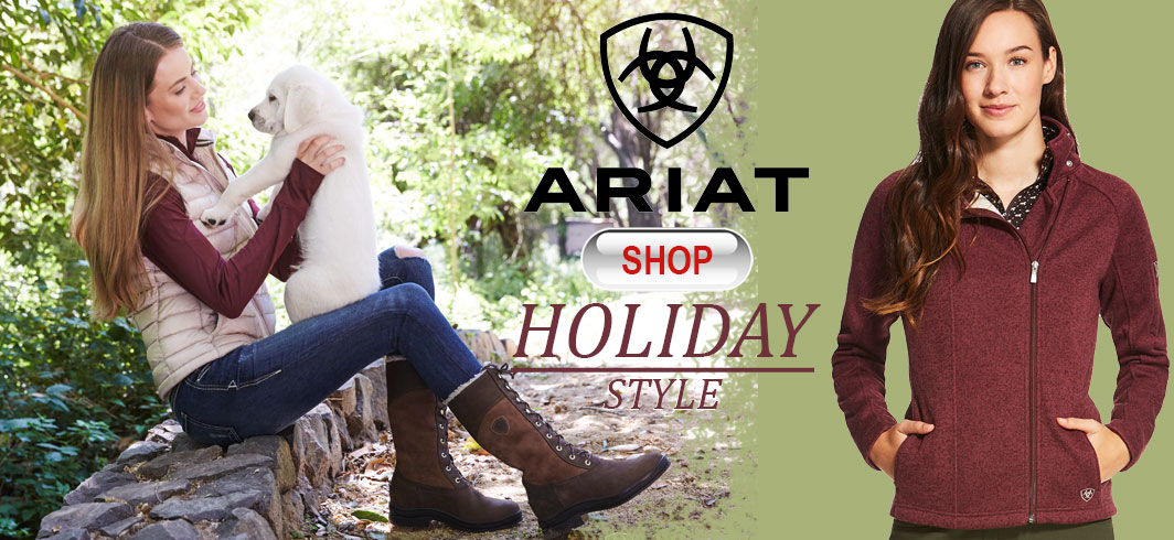 Ariat outerwear for women - jackets, coats, shirts, sweaters