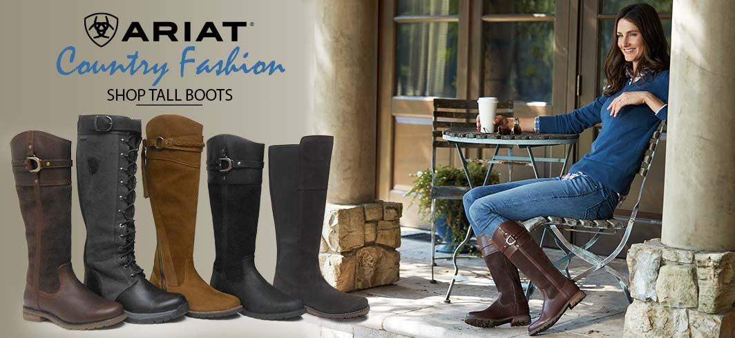 Ariat Country Tall boots, Ariat Loxley, Ariat Alora, Ariat Berwi