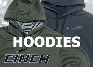 Cinch Hoodies for Men