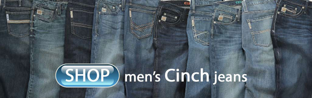 Cinch jeans, Cinch men's jeans, Cinch Ian, Cinch Grant
