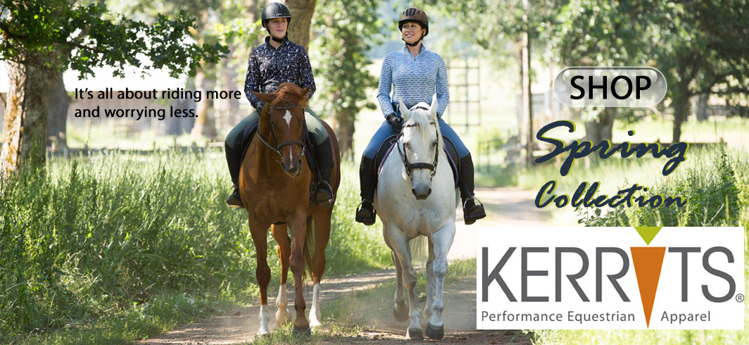 Kerrits riding tights, breeches, shirts and more