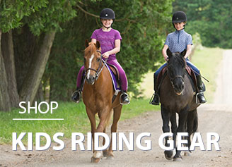 Kids riding gear, pony camp gear
