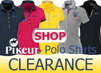 Pikeur outlet, clearance prices on Pikeur shirts, polos and more