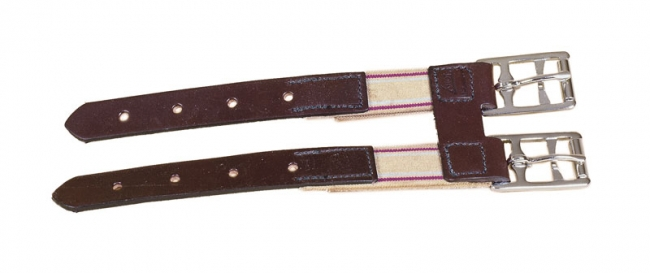 Tory Leather Elastic English Girth Extender