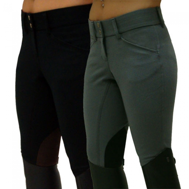 Grand Prix Vegas Breeches with Contrast Knee Patch
