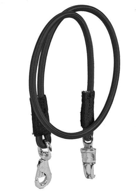 Tory Leather Shock Cord Bungee Cross Ties